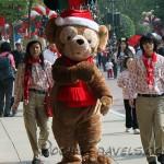 Duffy arriving on Main Street