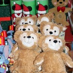 A few Duffy bears were on the Christmas table