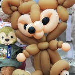 Close up of Duffy balloon