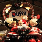 Duffy display in a store