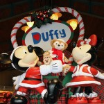 Duffy tie in to the Christmas display in the Emporium