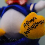 Donald's foot says Mickey's PhilharMagic