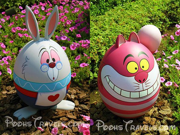 White Rabbit And Cheshire Cat