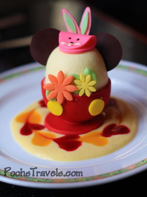 Easter Wonderland 2011 Desserts At Tokyo Disney
