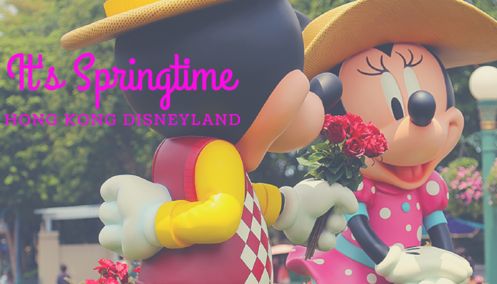 Springtime at Hong Kong Disneyland - DisneyGlobetrotter.com